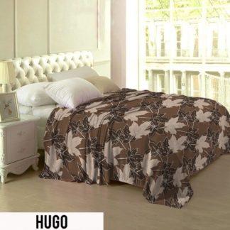 Selimut Lady Rose Terlaris bulu halus uk 160x200 motif Hugo