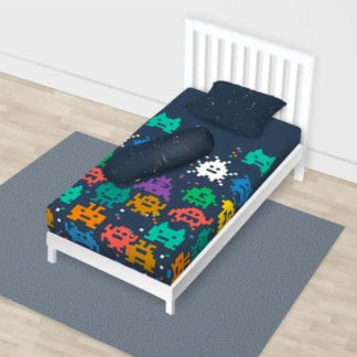 Sprei California Disperse Uk 120x200 Single - Invaders