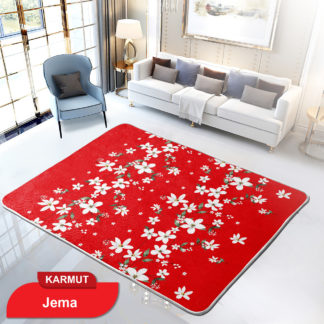 Karmut Terlaris - Karpet Selimut Internal Lady Rose Motif Dewasa Uk 150x200 cm - JEMA