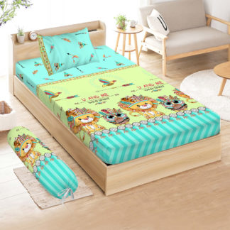 Sprei 3D Single NEW VITO motif Jungle Land