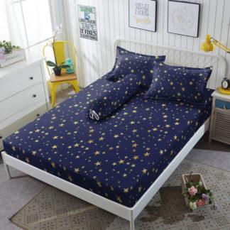 Kintakun Gold - Sprei King 180x200 D'Luxe Anti Bakteri (5in1) 30 cm - Stardust