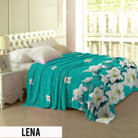 Selimut Lady Rose Terlaris bulu halus uk 160x200 motif Lena