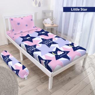 Sprei 3D Single NEW VITO motif Little Star
