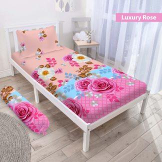 Sprei 3D Single NEW VITO motif Luxury Rose