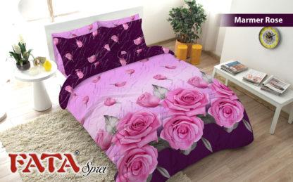Sprei Queen FATA Signature Marmer Rose