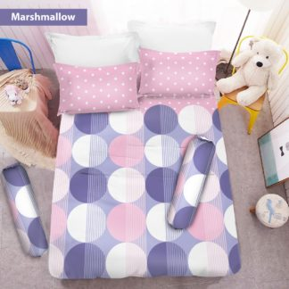 Sprei 3D King NEW VITO motif Marshmallow