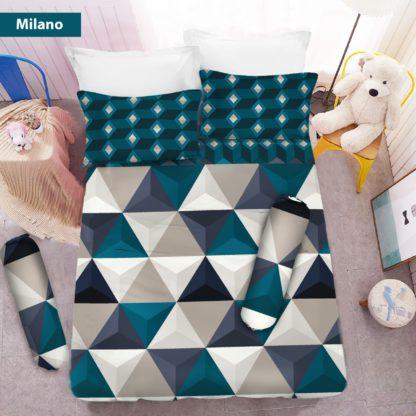Sprei 3D Queen NEW VITO motif Milano