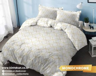 Kintakun Gold Edition Selimut Comforter / Bed Cover Only Uk 230x240 - Monochrome