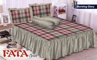 FATA - Sprei Rumbai King terlaris Morning Glory