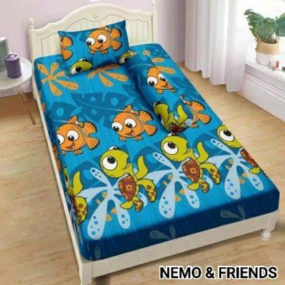 Sprei Lady Rose 120x200 Single terlaris Nemo And Friends
