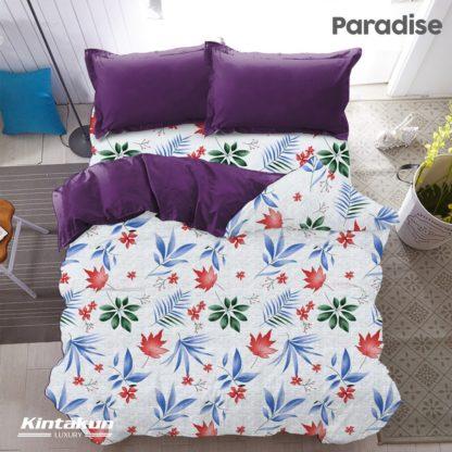 Bed Cover AJA Kintakun Luxury Super Soft Microfiber 230 x 217 cm - Paradise
