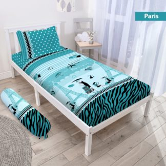 Sprei 3D Single NEW VITO motif Paris