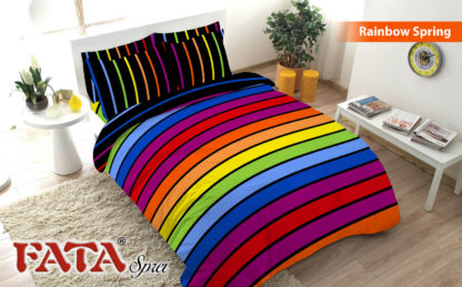 Sprei Single FATA Signature Rainbow Spring