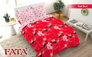 Sprei King FATA Signature Red Bird