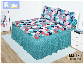 Sprei Rumbai HAWAI King 180x200 terlaris motif Malibu