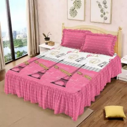 Sprei RUMBAI Lady Rose 180x200 King terlaris Motif Parisian