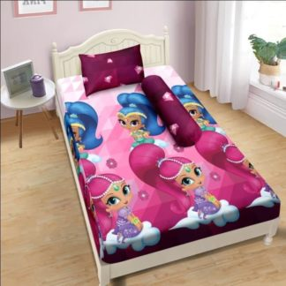 Sprei Lady Rose 120x200 Single terlaris Shimmer And Shine