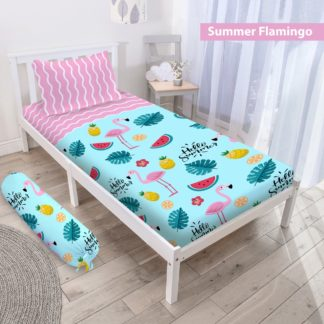 Sprei 3D Single NEW VITO motif Summer Flamingo