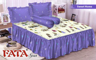 FATA - Sprei Rumbai King terlaris Sweet Home