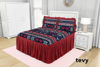 Sprei Rumbai King California motif TEVY