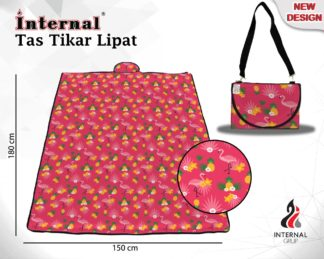 Internal Tas Tikar Lipat PVC Uk 180x150 cm - Flanaz