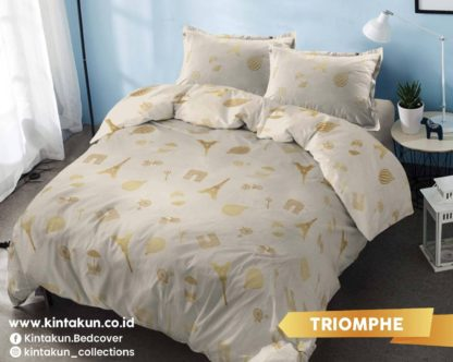 Kintakun Gold Edition Selimut Comforter / Bed Cover Only Uk 230x240 - Triomphe (GoldParis)