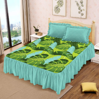 Sprei Rumbai Lady Rose Ukuran King motif Tropica