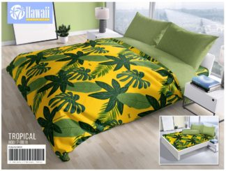 Sprei Hawai Terbaru King 180x200 Motif Tropical