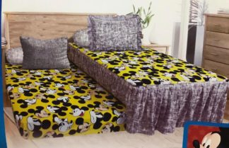 Sprei Single 2in1 California Sorong - Yellow Mickey