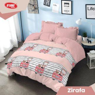 Bed Cover King Kintakun Santika Deluxe / D'luxe Zirafa